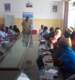 Participants on the awareness training conducted in South Region Unguja at JECA hall Jozani